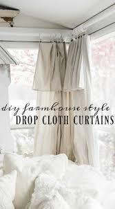 Behind That Curtain 1929 Grain Sack Inspired Curtains Grain Sack Drop And Bathroom Curtains