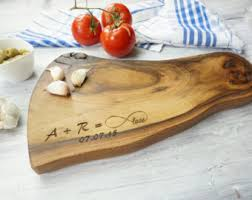 personalized cheese platter personalized spalted maple cheese board 14 5 x 2 w non