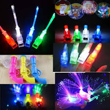 toy finger rings images New led light flashing finger rings fiber projector peacock night jpg