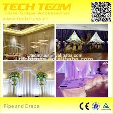 Wedding Backdrop Accessories Wedding Backdrop Stand Easy To Assemble Pipe And Drape For Sale
