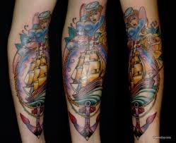 traditional sailor sleeve tattoos in 2017 photo
