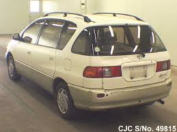 1997 toyota ipsum white 2 tone for sale stock no 49815