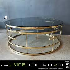 Gold Round Coffee Table Gold Round Coffee Table Frm3061 Gd