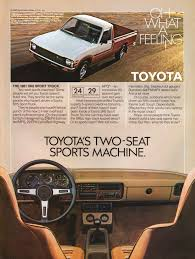 classic toyota truck toyota trucks advertisement gallery