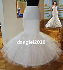 underskirts for wedding dresses 1 hoop fishtail petticoat mermaid bridal wedding underskirt slip