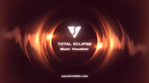 total eclipse music visualizer after effects template