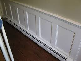 Install Wainscoting Over Drywall Wainscoting With Baseboard Heater House Pinterest Baseboard