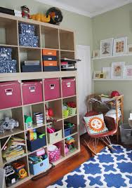 Expedit Shelving Unit by The Playroom Double Height Expedit Shelves Stately Kitsch