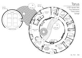 floor plan dl t03 monolithic dome institute