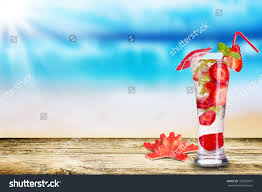 holiday cocktails background fresh summer cocktail on wooden table stock photo 102039697