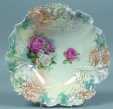 rs prussia bowl roses beautiful rs prussia floral bowl mold 29 prussia bowls and
