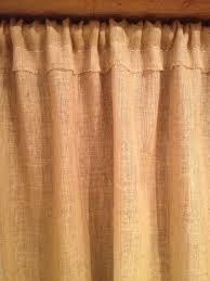 Burlap Grommet Curtains Natural Burlap Curtains Drapes Decorating Ideas U2014 Liberty Interior