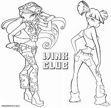 winx club coloring pages coloring pages to download and print