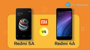 Redmi 5a Redmi 5a Vs Redmi 4a Official Specs Price