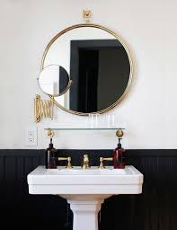 bathroom round mirror easy bathroom decor refresh a round bathroom mirror anne sage