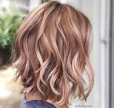 rose gold hair color pretty chocolate rose gold hair color ideas 7 lucky bella