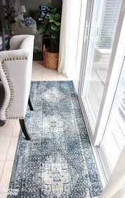 Brown And Blue Rug New Indigo Blue Rugs And A Giveaway Setting For Four