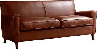 Leather Club Chair For Sale Allmodern Custom Upholstery Foster Leather Sofa U0026 Reviews Wayfair