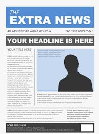 free newspaper template pack for word perfect for