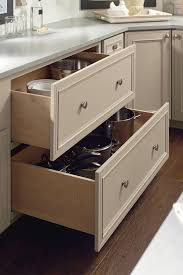 kitchen base cabinets with drawers two drawer base cabinet decora cabinetry