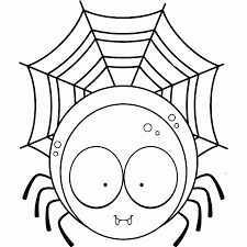 scary spider coloring pages kids coloring