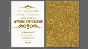 wedding invitations and gold classic wedding wedding invitations by jinaiji