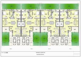 l shaped duplex plans first floor plan added with terrace sit out and two toilet project