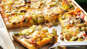 breadstick pizza recipe taste of home
