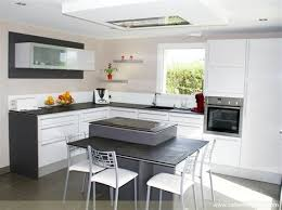cuisine avec ilot central arrondi dimension ilot central coin repas maison design cuisine avec ilot