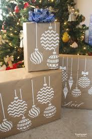 doodlecraft stencil gift wrap