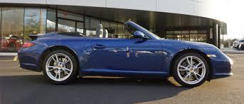 2009 porsche 911 cabriolet porsche 997 cabriolet for sale 2009 blue exterior