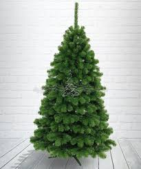 pine tree silver shape artificial tree 150 cm