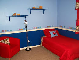 Red And Blue Boys Bedroom - bedroom boys bedroom paint ideas excellent on for with kids room