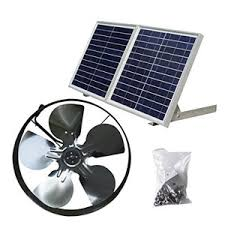house solar powered attic ventilator