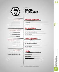 Cv Resume Example by Minimalist Resume Template Chronological Resume Template Really