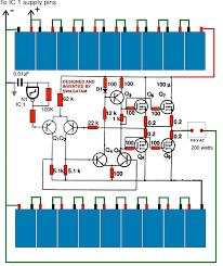how to make a 200 watt transformerless inverter circuit