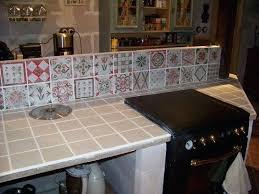 pour plan de travail cuisine carrelage pour plan de travail cuisine quelques avancaces carrelage