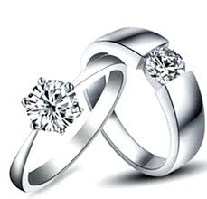 jewelry couple rings images Amazing wedding bands amazing design real solid white gold couple jpg
