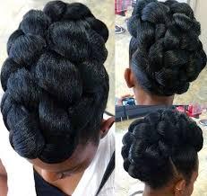 pin up hair styles for black women braided hair 50 cute updos for natural hair black braided updo black braids