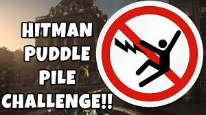 Can Challenge Kill You Hitman Puddle Pile Challenge Kill As Many As You Can