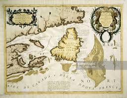 Newfoundland Canada Map by Map Of Eastern Canada And Newfoundland Drawing By Vincenzo Maria