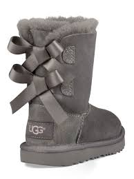ugg toddler bailey bow sale ugg toddler bailey bow ii boot in grey