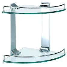 Corner Bathroom Shelving Smart Glass Corner Shelves Bathroom Corner Glass Shelf Corner