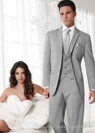 mens light gray 3 piece suit 2017 new arrival formal men suits light gray wedding suits for men