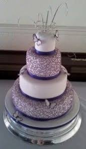 cadburys purple wedding cake purple wedding cakes purple
