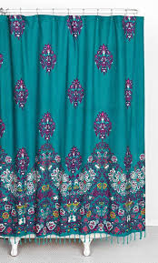 Purple And Brown Shower Curtain Inspiration Of Teal Colored Shower Curtains And Blue And Brown