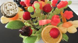 how to make fruit bouquet how to make fresh fruit bouquet do it yourself diy