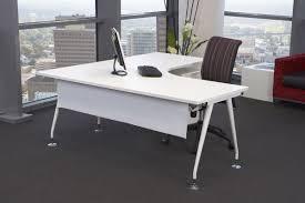 Minimalist Office Furniture Minimalist Glass L Shaped Desk Cover For Glass L Shaped Desk