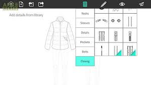 fashion design flat sketch for android free download at apk here