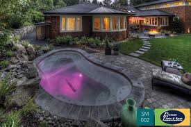 in oregon this small pool was the perfect escape for a family in